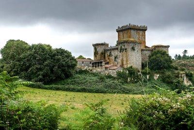 Castillo de pambre vacaciones en galicia turismo en for Registro de la propiedad lugo