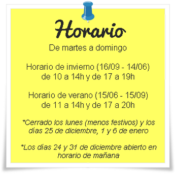 Horario del Museo Do Mar