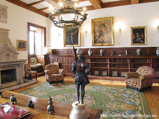 Pazo Museo Quiñones De León Vacaciones En Galicia Turismo En Galicia Guía Oficial De La A G Información De Galicia Portal Turístico De Galicia